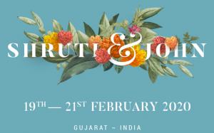 Image from Shruti & John wedding site